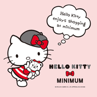 MINIMUMにHELLO KITTYコラボ登場!