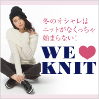 WE LOVE KNIT